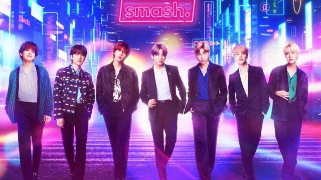 BTSアプリ「smash.」